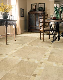 Ceramic Tile Floor in Ann Arbor, MI