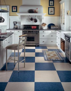 Luxury Vinyl Tile Floor in Ann Arbor, Michigan
