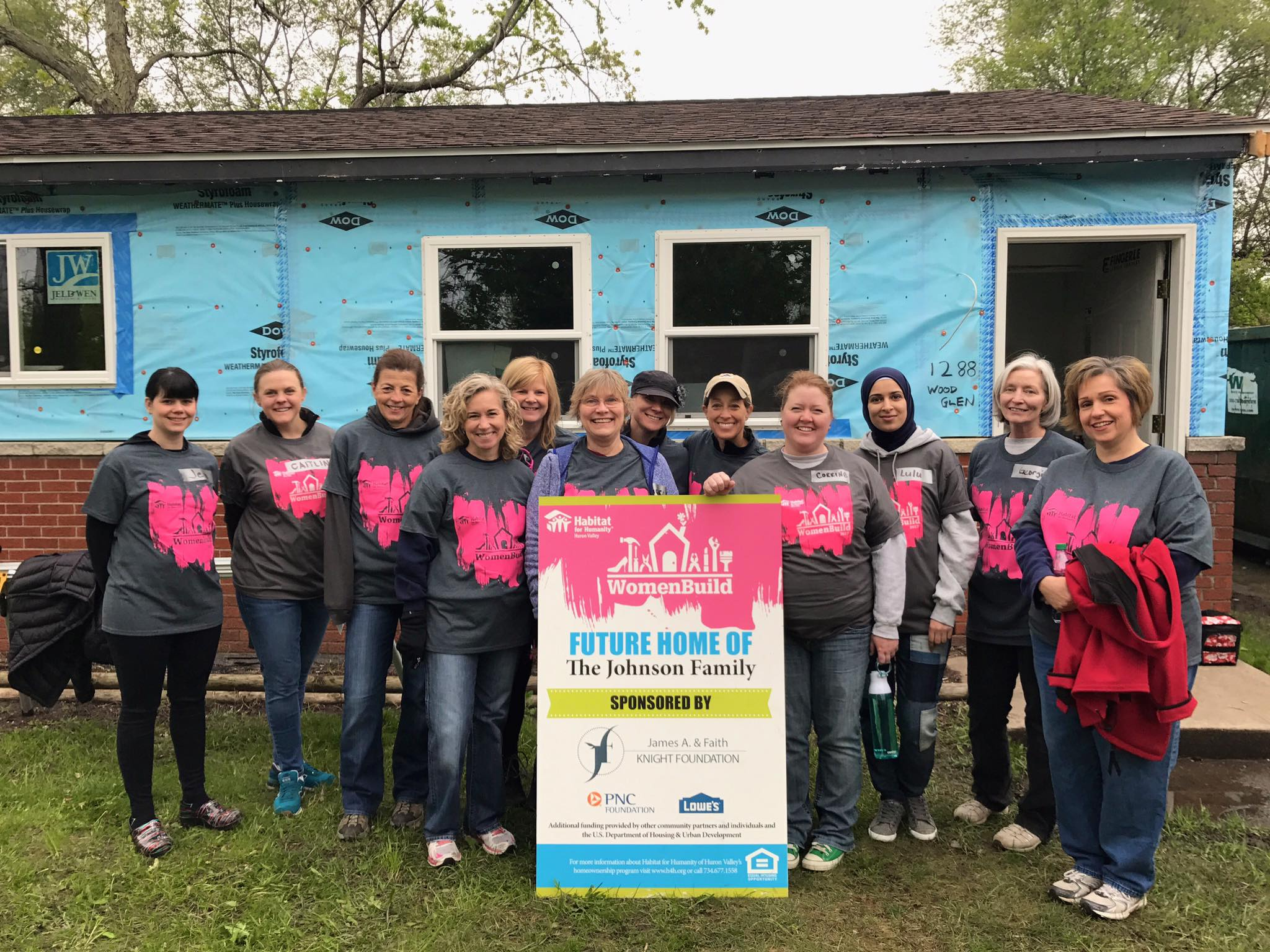 Habitat for Humanity Huron Valley Women Build